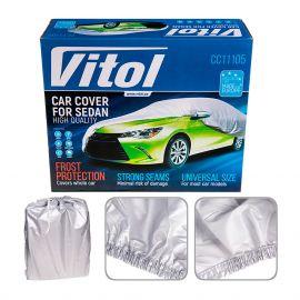 Vitol Тент для автомобиля CC11105 S (406*165*120)