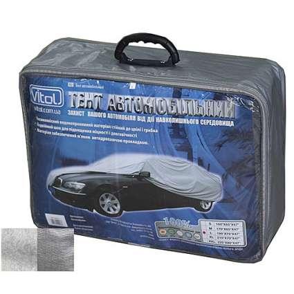 Vitol Тент для автомобиля с подкладкой CC13401