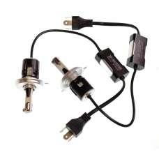 Baxster Лампы автомобильные светодиодные P H4 H/L 6000K 3200Lm (2 шт)