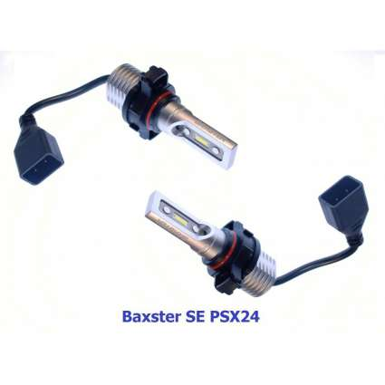 Baxster Лампы автомобильные светодиодные SE PSX24 6000K (2 шт)