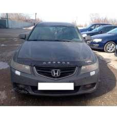 "VipTuning Honda Accord VII '02-08 (с молдингом) Дефлектор капота ""мухобойка"""