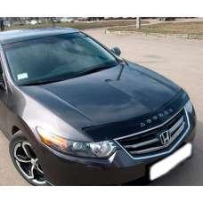 """VipTuning Honda Accord VIII '08- Дефлектор капота """"мухобойка"""""""