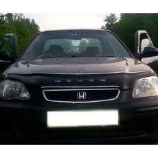 "VipTuning Honda Civic VI '95-00 (Европа) Дефлектор капота ""мухобойка"""