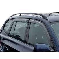 EGR Дефлекторы окон на BMW X3 E83 '03-10 дымчатые (накладные)