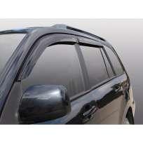 Azard Дефлекторы окон на Chevrolet Cruze '12- хэтчбек (ПК, накладные)
