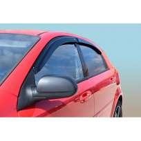 Azard Дефлекторы окон на Chevrolet Lacetti '02- хэтчбек (ПК, накладные)