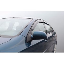 Azard Дефлекторы окон на Chevrolet Lacetti '02- седан (ПК, накладные)