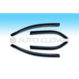 Auto Clover Дефлекторы окон на CHEVROLET AVEO T200 '02-07 СЕДАН (накладные)