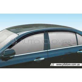 Auto Clover Дефлекторы окон на CHEVROLET EPICA '06-12 (накладные)