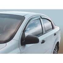 Corsar Дефлекторы окон на CHEVROLET Aveo T250 '06-11 седан (накладные)