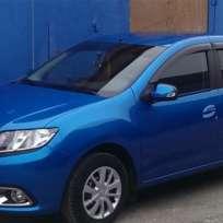 COBRA TUNING Дефлекторы окон на Renault Logan/Dacia Logan II '12- седан (накладные)