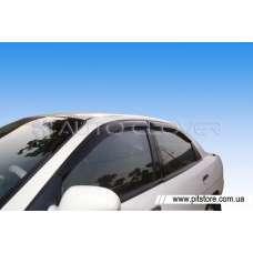 Auto Clover Дефлекторы окон на DAEWOO NUBIRA (накладные)