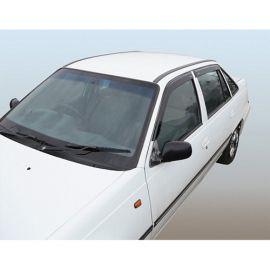 Azard Дефлекторы окон на Daewoo Nexia '95-08 (ПК, накладные)