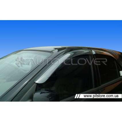 Auto Clover Дефлекторы окон на KIA SORENTO I '02-09 (накладные)