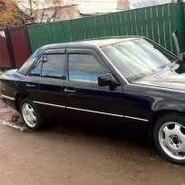 COBRA TUNING Дефлекторы окон на Mercedes-Benz E-Class (W124) '84-95 седан (накладные)