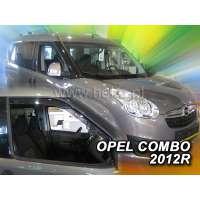 Team Heko Дефлекторы окон на Opel Combo D '11-18 (передние, вставные)