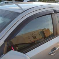 COBRA TUNING Дефлекторы окон на Opel Astra H '07-10 седан (накладные)