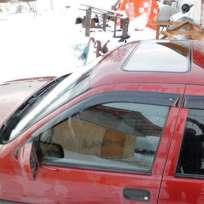 COBRA TUNING Дефлекторы окон на Opel Vectra A '88-95 седан (накладные)