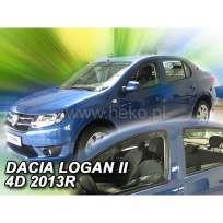 Team Heko Дефлекторы окон на Renault Logan/Dacia Logan II '12- седан (вставные)