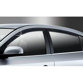 Auto Clover Дефлекторы окон на RENAULT FLUENCE '09- (накладные)