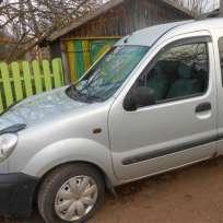 COBRA TUNING Дефлекторы окон на Renault Kangoo I '98- 3d (накладные)