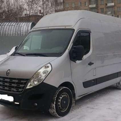 COBRA TUNING Дефлекторы окон на Opel Movano B '10- (накладные)