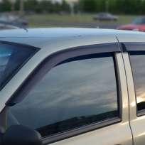 COBRA TUNING Дефлекторы окон на Renault Symbol I '02-08 (накладные)