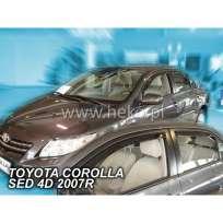 Team Heko Дефлекторы окон на Toyota Corolla (E14/15) '06-12 Sedan (вставные)