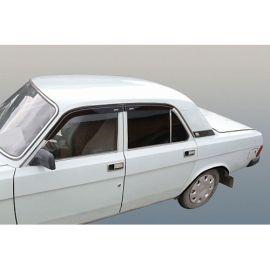 Azard Дефлекторы окон на ГАЗ 3110-105 (накладные)