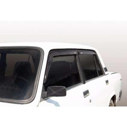 Azard Дефлекторы окон на ВАЗ 2105, 2107 (ПК, накладные)