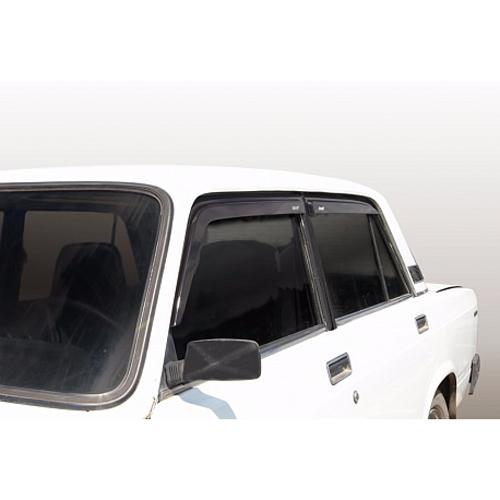 Дефлекторы окон накладные для MERCEDES S-class 2005- (кузов W221) (COBRA)