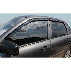 Azard Дефлекторы окон на ВАЗ Калина 1118, ВАЗ Гранта 2190 седан (накладные)