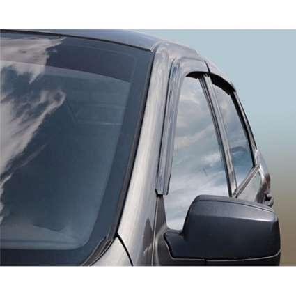 Azard Дефлекторы окон на ВАЗ Калина 1118 седан (ПК, накладные)