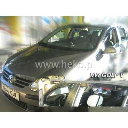 Team Heko Дефлекторы окон на Volkswagen Golf V '03-08 хэтчбек (вставные)
