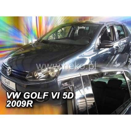 Team Heko Дефлекторы окон на Volkswagen Golf VI '08-12 хэтчбек (вставные)