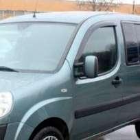 COBRA TUNING Дефлекторы окон на Fiat Doblo I '00- 2d (накладные)