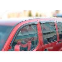 COBRA TUNING Дефлекторы окон на Fiat Doblo II '10- 5d (накладные)