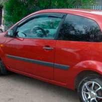 COBRA TUNING Дефлекторы окон на Ford Fiesta VI '02-08 3d (накладные)