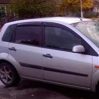 COBRA TUNING Дефлекторы окон на Ford Fiesta VI '02-08 5d (накладные)