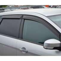 COBRA TUNING Дефлекторы окон на Ford Focus II '04-11 универсал (накладные)