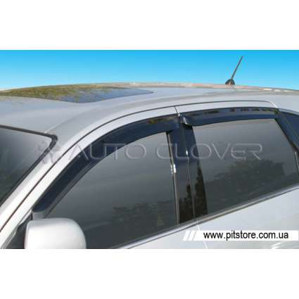Auto Clover Дефлекторы окон на HYUNDAI IX-55 '06- (накладные)