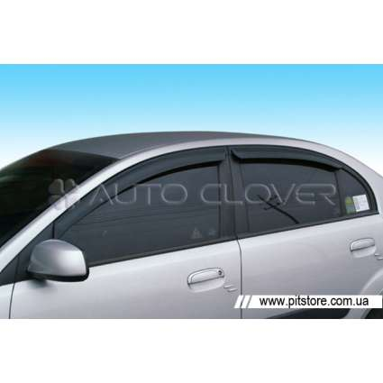 Auto Clover Дефлекторы окон на HYUNDAI ACCENT III '06-10 (накладные)