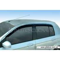 Auto Clover Дефлекторы окон на HYUNDAI GETZ '02-11 (накладные)