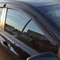 COBRA TUNING Дефлекторы окон на Hyundai Accent IV '10-17 седан (накладные)