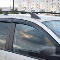 COBRA TUNING Дефлекторы окон на Hyundai Matrix '01-10 (накладные)