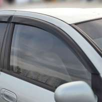 COBRA TUNING Дефлекторы окон на Nissan Almera Classic (B10) '06- (накладные)