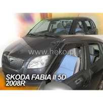 Team Heko Дефлекторы окон на Skoda Fabia II '07- универсал (вставные)