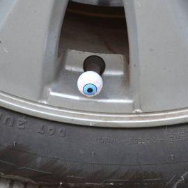 Колпачки на ниппель колеса Глаз (Комплект 4 шт.)
