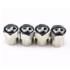 Колпачки на ниппель колеса модельные ВАЗ (Lada) (Комплект 4 шт.)