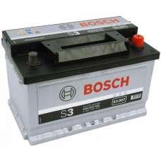 Автомобильный аккумулятор BOSCH (S3007) 70Ач